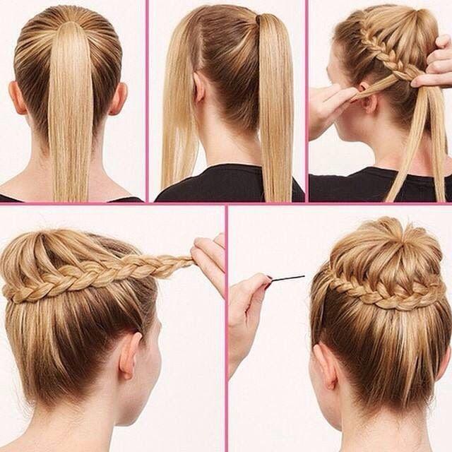 awesome Прически на средние волосы (50 фото): стильные варианты Читай больше http://avrorra.com/pricheski-na-srednie-volosy-foto/