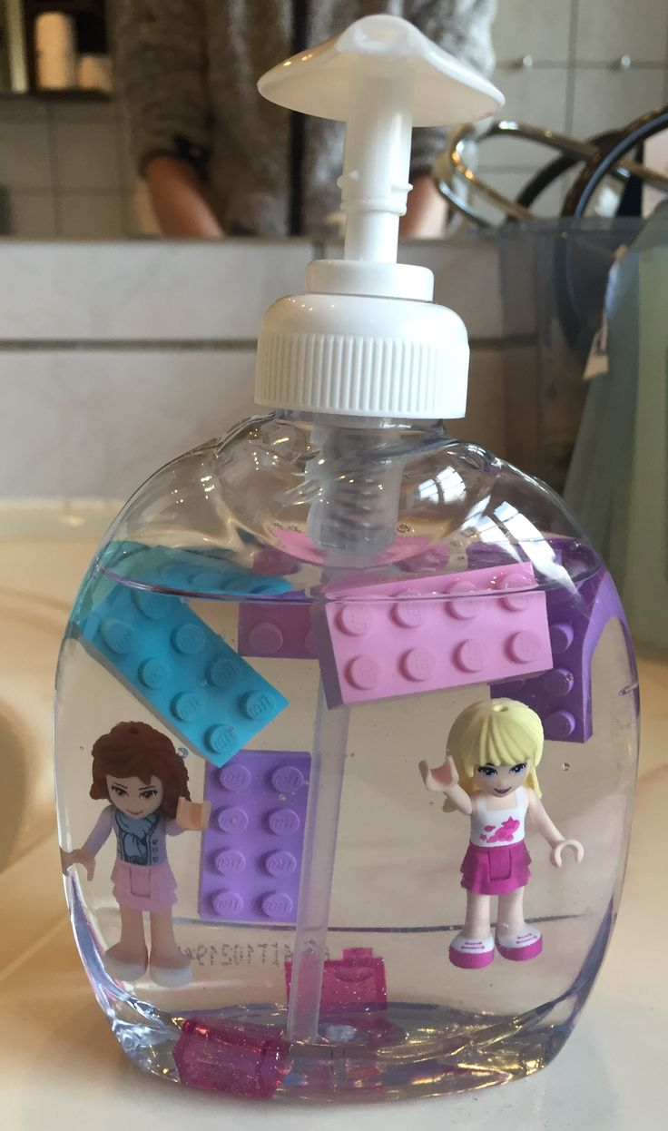 Lego friends sæbe