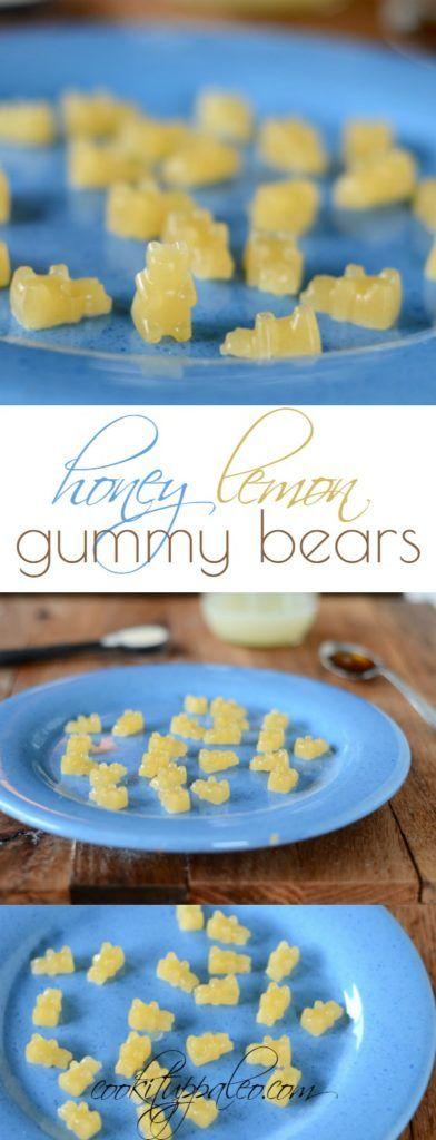 Honey Lemon Paleo Gummy Bears