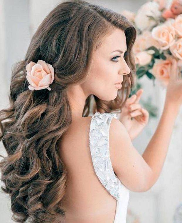 acconciature sposa capelli sciolti - Cerca con Google