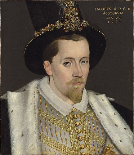 James I of Britain, son of Mary, Queen of Scots, grandson of Margaret Tudor
