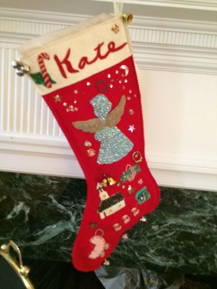 KK's heirloom stocking via The Gracious Posse