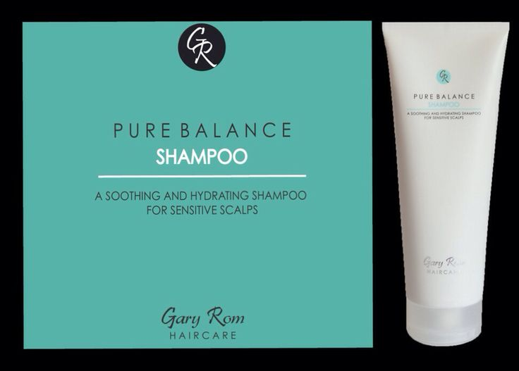 Gary Rom Haircare - Pure Balance Shampoo: a soothing and hydrating shampoo for sensitive scalps