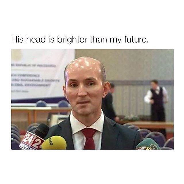 14 Best Images About Bald People Funny On Pinterest