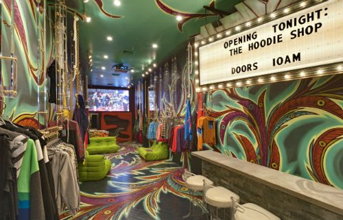 The Hoodie Shop Opens a Trippy Store on Orchard Street