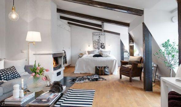 Ο παράδεισος σε 44τ.μ.! Δείτε ένα ΕΚΠΛΗΚΤΙΚΟ διαμέρισμα από τη Σουηδία!