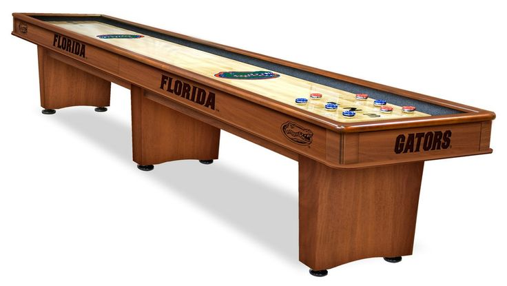 Shuffleboard Table - 12' University of Florida. My husband and his friends love playing this game.