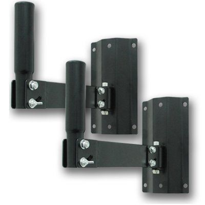 Seismic Audio - SA-SWM2 (Pair) - Adjustable PA Wall Speaker Stand Mount by Seismic Audio. $64.99. These are ideal for permanent installations, churches, bars, restaurants, karaoke use, or just getting your speakers off the ground. These can be angled in multiple positions, allowing you to mount these just about anywhere.