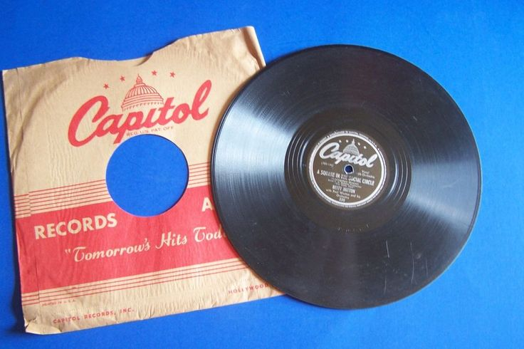 Betty Hutton 78 RPM Doctor Lawyer Indian Chief Capitol 220 The Stork Club Movie