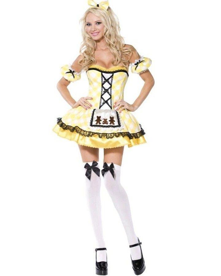 Boutique Goldilocks Womens Costume