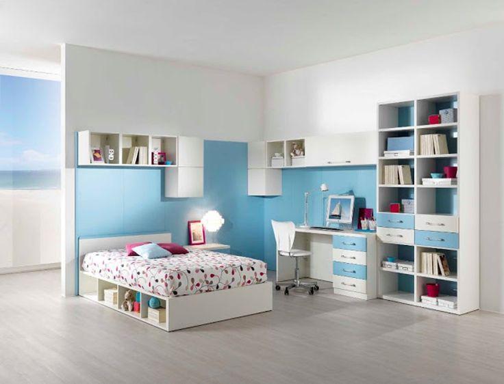incredible chambre ado gris et bleu peinture chambre idees couleurs pour for peinture chambre ado fille - Peinture Chambre