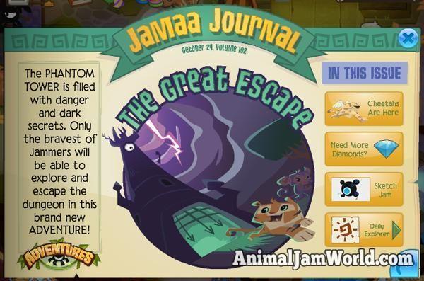 Animal Jam Adventures Cheats great-escape1  #Adventures #AnimalJam http://www.animaljamworld.com/animal-jam-adventures-cheats/