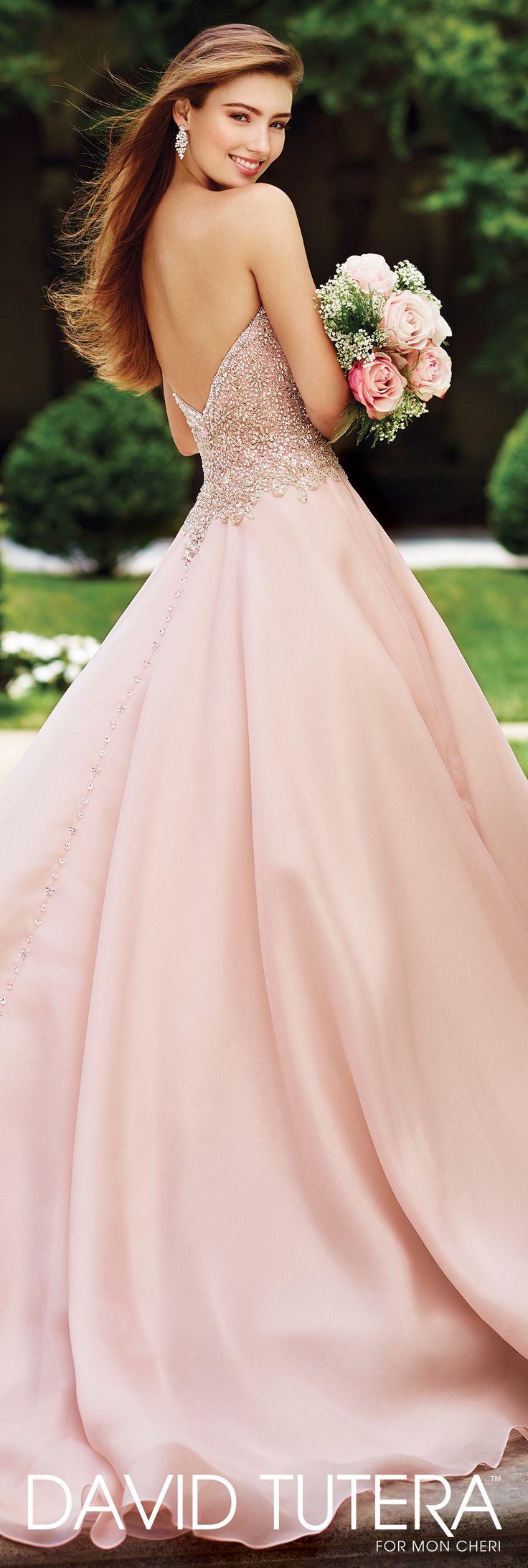 Crystal Pink Wedding Dress – fashion dresses