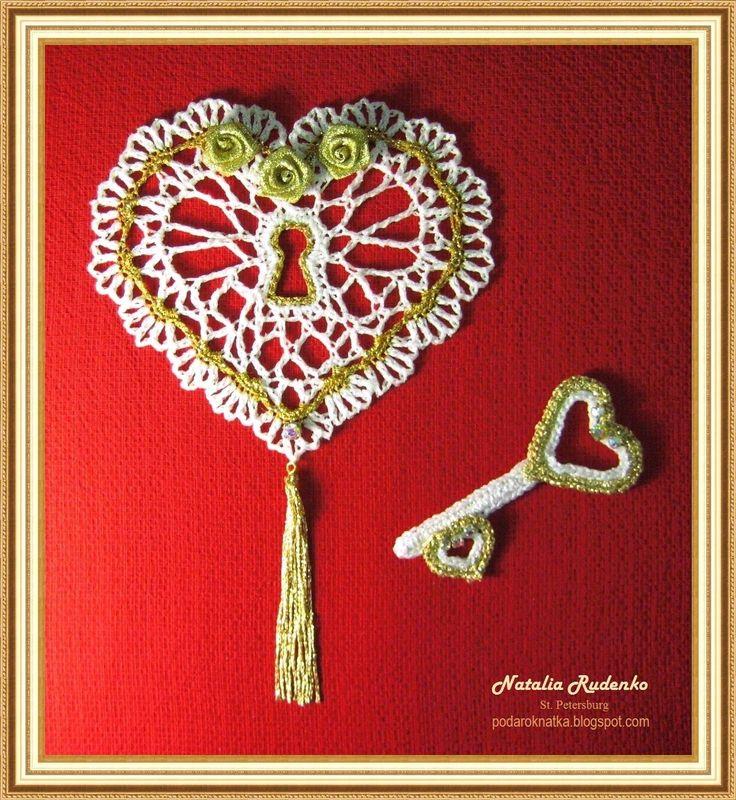 Милые сердцу мелочи от Podarok: Ключик от сердца