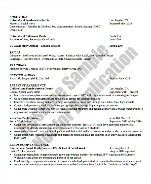 Social Work Resume TemplateSocial Work Resume Template , Resume References Template for Professional and Fresh Graduate , To make a resume much more credible you need to put references on it. There are different ways to put references on the resume but the common way is b... Check more at http://templatedocs.net/resume-references-template-for-professional-and-fresh-graduate