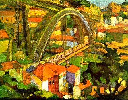 eduardo viana pinturas - Olhar sobre o Porto