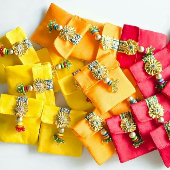 gifting envelops using gota