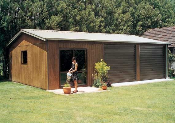 Add sleepout to your garage for overflow. - versatile garages