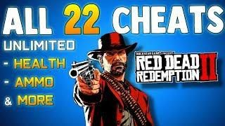 All Cheat Codes In Rdr2 So Far Red Dead Redemption 2 Cheats How