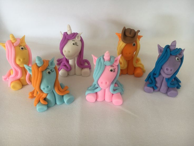 My pony cupcake toppers