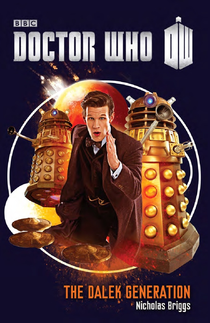 "Excerpt of ""Doctor Who The Dalek Generation"" by Nicholas Briggs #DoctorWho"
