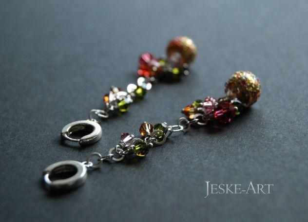 Kolory Totalne - srebro925 i kryształy w Jeske-Art na DaWanda.com