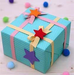 Упаковка детских подарков