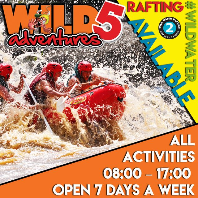 Thanks to the incredible recent rains we had we are amped to announce the Wild Water Rafting is now available again. Click here to read more.