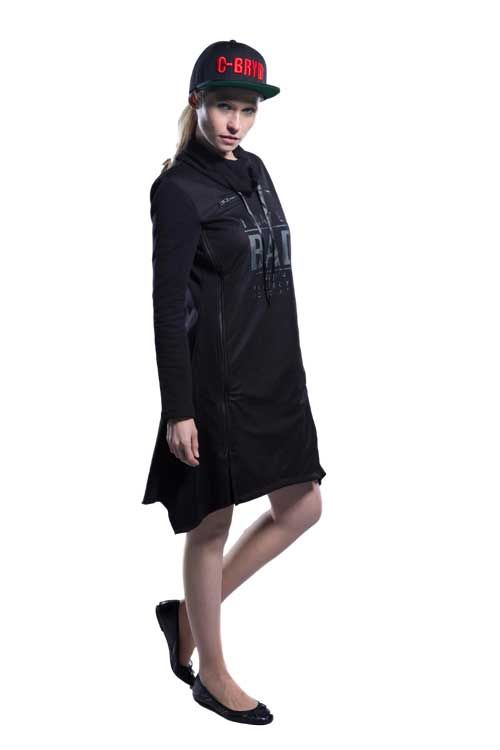 Robe Sportive Noir Lady Bad | C-BRYD 12.17