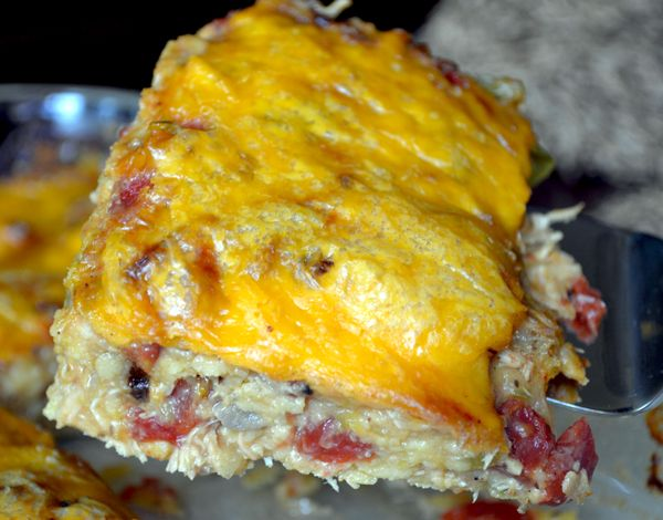 Most-Requested King Ranch Chicken Casserole - This classic has a nice kick that makes it one of the most popular in Texas. Think Tex-Mex chicken lasagna with corn tortillas instead of noodles! ttp://www.boomerbrief.com/2013/06/heres-the-dish-most-requested-king-ranch-chicken-casserole.html#sthash.srsAlp2A.dpuf