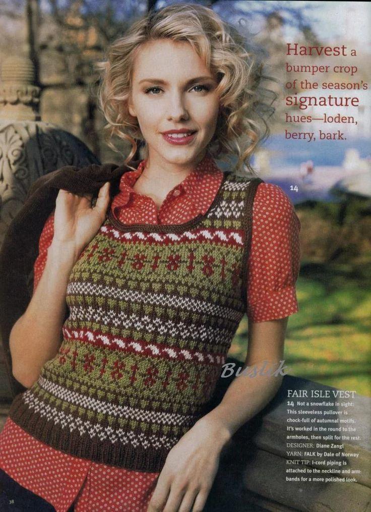 177 best Fair Isle images on Pinterest | Knitting, Tricot crochet ...