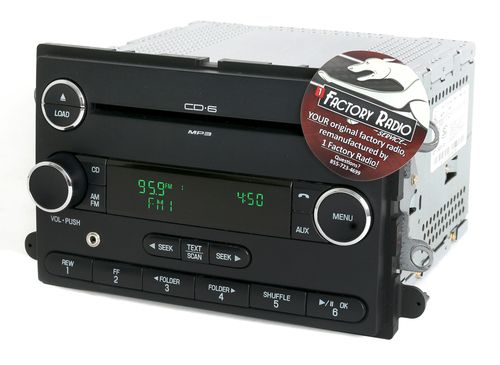 Reman & Mod SERVICE for 2008-2009 Ford Taurus Mercury Sable AMFM 6 Disc CD Radio