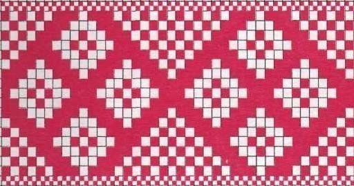 Схемы для браного ткачества на