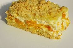 Crumble cake with tangerines and sour cream   – backen süß + salzig