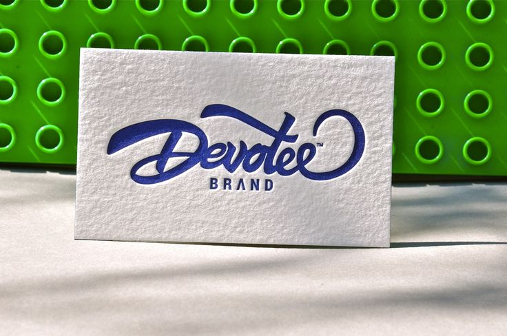 Interesting business card of Devotee Brandt on the classic Lego wall :) Printed by Letter&Press unique printing house.