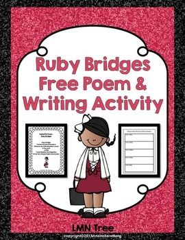 This is a free 5W Poem about Ruby Bridges. It also includes a description of what a 5W is and the form to write one. Students will be able to write a 5W poem about another African American.  You may also like: Celebration Black History Month through Biographies, Poems, and Writing