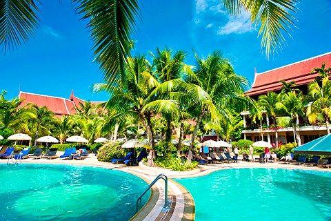 Aonang Villa Resort - Ao Nang (Krabi), Thaimaa - finnmatkat.fi www.finnmatkat.fi #Finnmatkat Mukava hotelli, kävimme täällä 2012