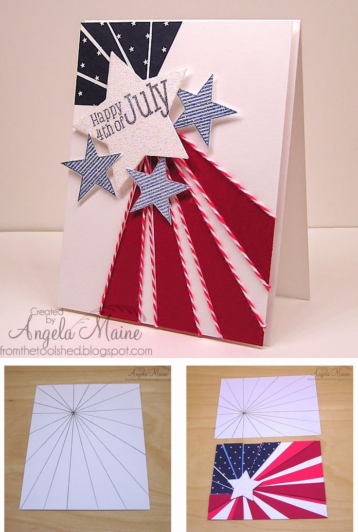 19 best Patriotic cards images on Pinterest | Cards, Diy cards and ...