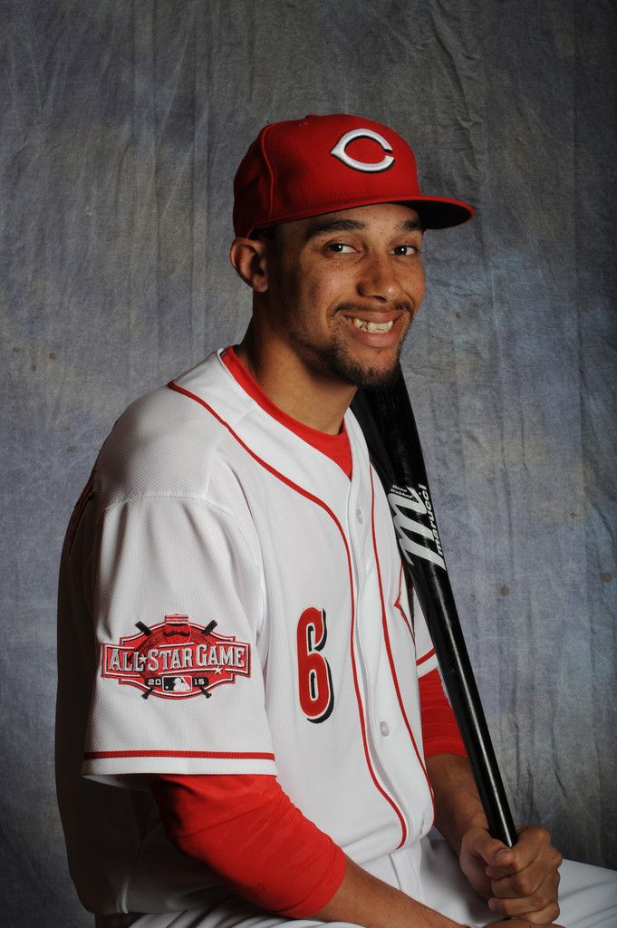 Billy Hamilton Photos: Cincinnati Reds Photo Day