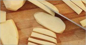 Batata frita crocante sem nenhuma gota de óleo - e tão fácil de preparar!   Cura pela Natureza
