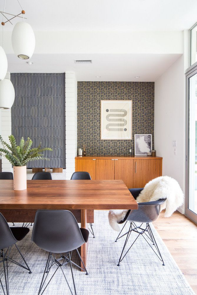 Mid Century Modern Dining Room, Best Dining Room Chairs 2018