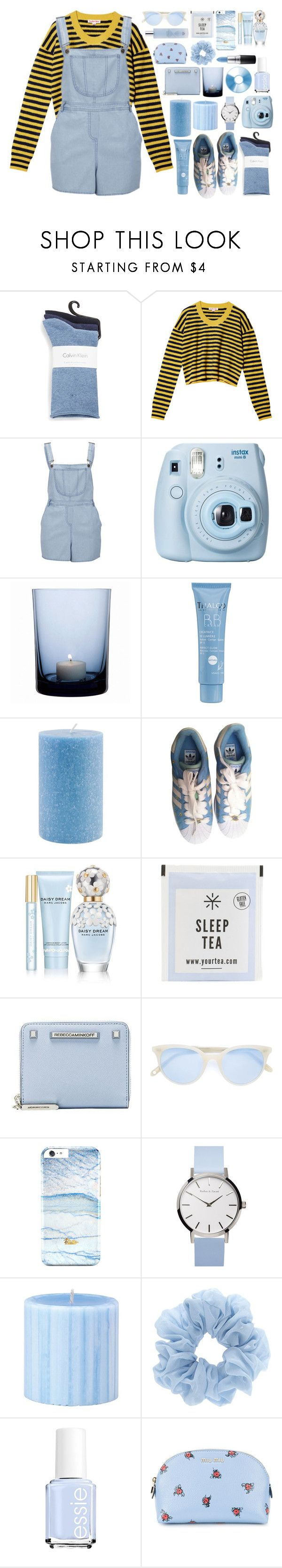 """""""Untitled #635"""" by jojomix ❤ liked on Polyvore featuring Calvin Klein, See by Chloé, Influence, Fujifilm, By Nord, Thalgo, Root Candles, adidas, Marc Jacobs and Rebecca Minkoff"""