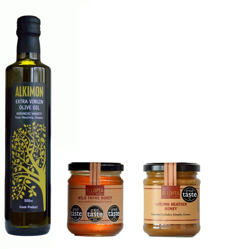 Our best-sellers: Our wild thyme honey, autumn heather honey and our extra virgin olive oil !