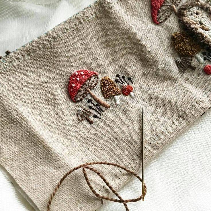 """2,341 curtidas, 6 comentários - Рукоделие❌Вышивка❌Handmade (@world_embroidery) no Instagram: """"@atelier_hola"""""""