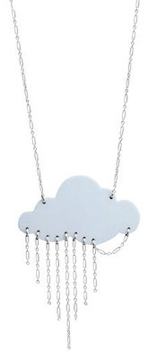 Weather Cloud Jewelry...pinned by ♥ wootandhammy.com, thoughtful jewelry.