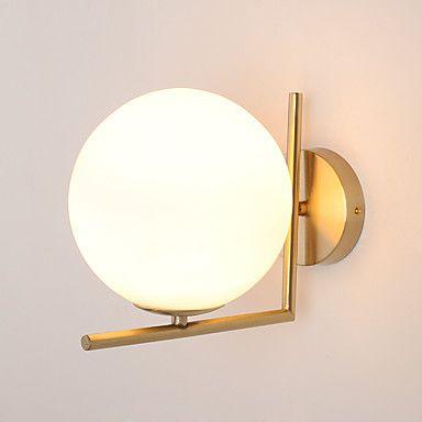 moderne industriële metalen schilderij glazen wand lamp voor de slaapkamer / werkkamer / foyer versieren wandlamp 5437315 2017 – €99.25