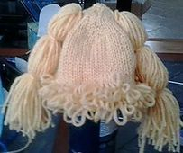 Ravelry: Cabbage Patch Baby Hat pattern by Maddie R. (This one is knit)
