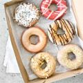 Federal Donuts has a limited edition line of donuts inspired by the Art in the Age spirits ROOT, SNAP and RHUBY.