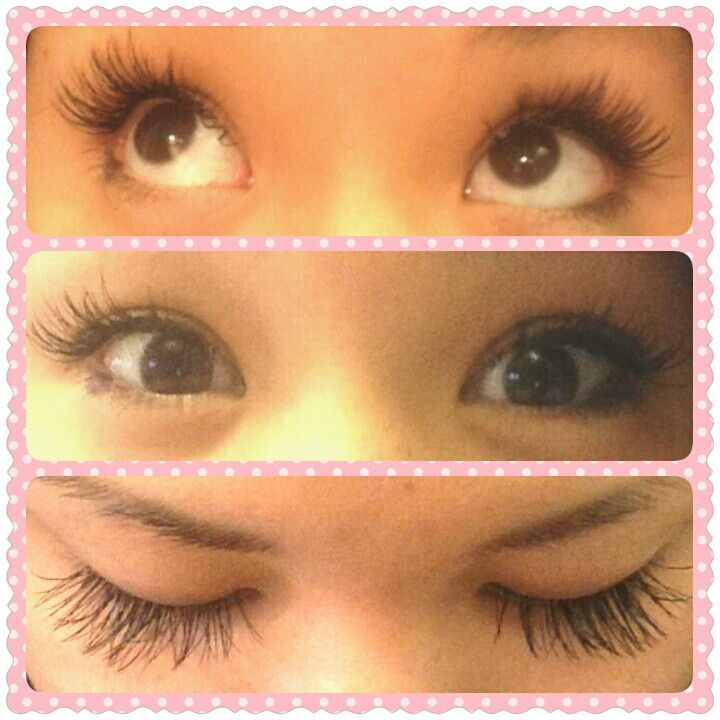 My Asian friend got her lashes done. Make them long ...