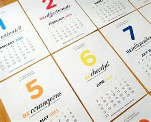 calendar design ideas - Yahoo Image Search Results